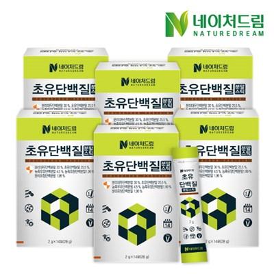 [네이처드림] 초유 단백질 분말스틱 6박스
