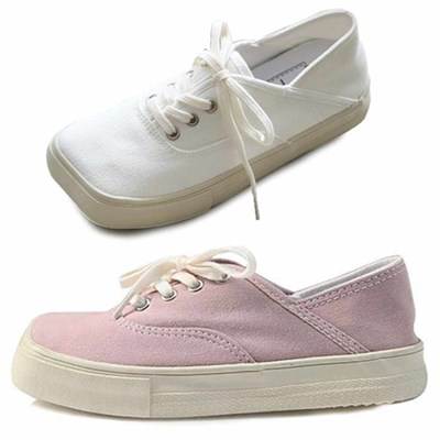 kami et muse Square toe canvas sneakers_KM21s007