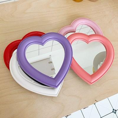 Mini Bubble Heart Mirror 미니버블하트거울
