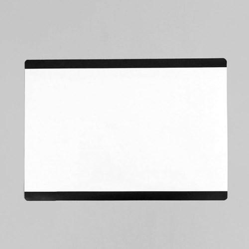 간편메모 마그네틱 화이트보드(블랙) 냉장고 메모판
