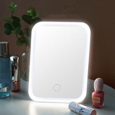 얼짱으로 보이는 LED 조명 휴대용 메이크업 화장거울