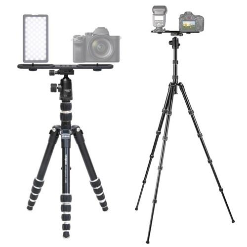 VT-385T 카메라 삼각대 + VD-284M 볼헤드 + KP-033 듀얼 브라켓 SET