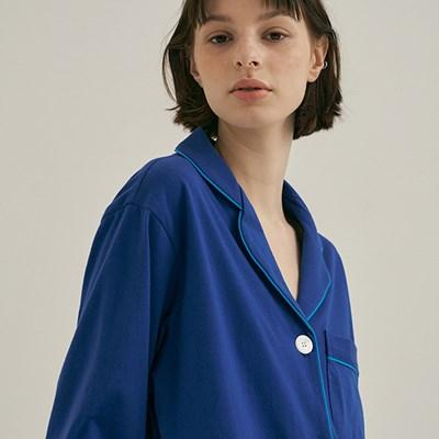 w) Royal Blue Pajama Set