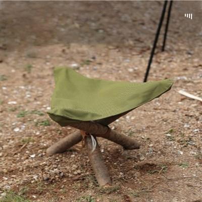 캠핑 삼각 캔버스 조랑말 미니 휴대용 의자 차박 비박