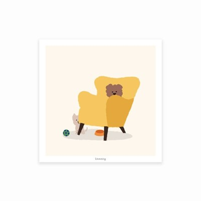 YELLOW CHAIR poster