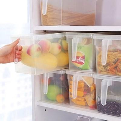 라이프토템 3개세트 냉장고야채칸정리 냉동실정리용기_(592634)