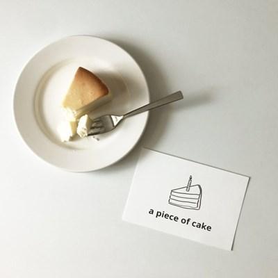 A Piece of Cake 엽서