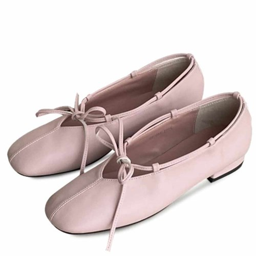 kami et muse Top ribbon ballet flat_KM21s009