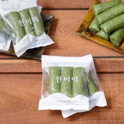 [국내산 유기농 쌀로 만든] (대용량)쑥현미가래떡 3kg_(1052421)
