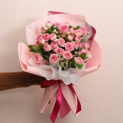 슈퍼 센세이션 장미 꽃다발 (생화, 전국택배)