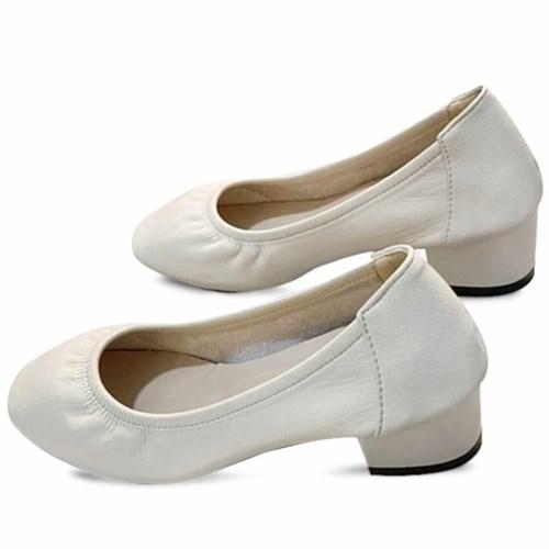 kami et muse 5cm middle heel soft pumps_KM21s012