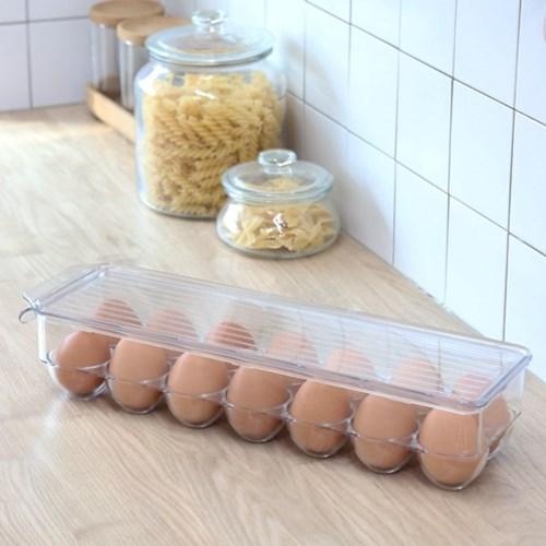 클리어 계란 보관함 케이스 14구