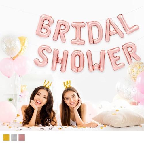 은박풍선세트 BRIDAL SHOWER (색상선택)