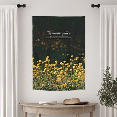 바란스 패브릭포스터 창문가리개 85x120 로맨틱옐로우