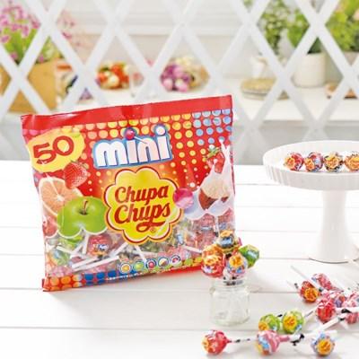 츄파춥스 미니 50개입 막대사탕 화이트데이 캔디 선물