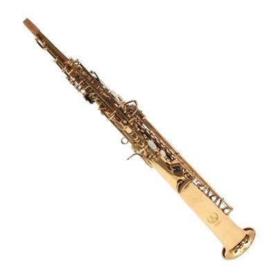 소프라노 색소폰 일체형 골드 섹소폰_(1888789)