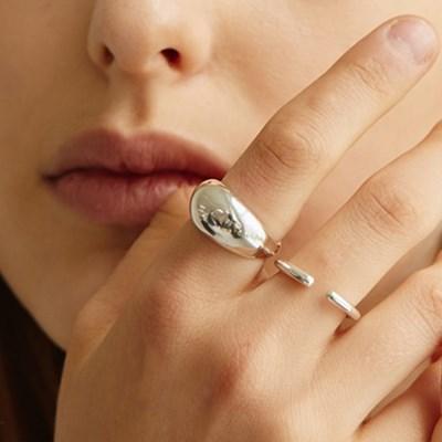 [효연 착용][silver925] chevrier bold ring