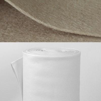 100% 대폭 메리노 펠트지 1mm_타우베 (183x10cm)