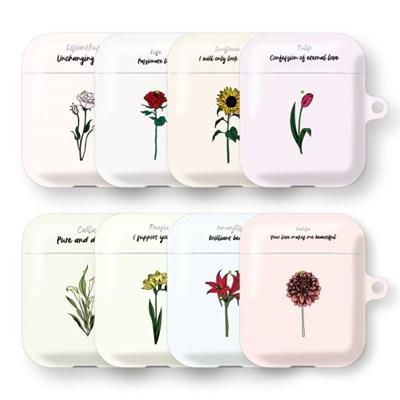 프루그나 꽃말 에어팟 하드 케이스