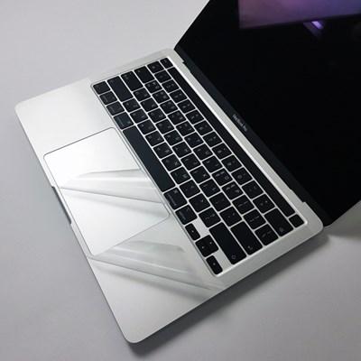 맥북 Air 13형 A1466 클리어 노트북 스킨 외부 보호 필름