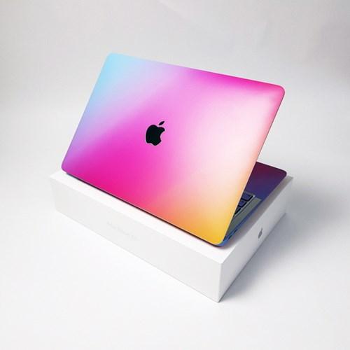 맥북 Air 13형 A1466 그라데이션 디자인 노트북 스킨