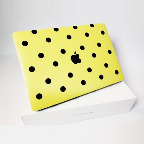 맥북 Air 13형 A1466 일러스트 디자인 노트북 스킨 외부 필름