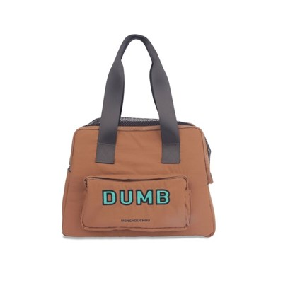 [monchouchou] Dumb Bear Most Bag_Tan Brown
