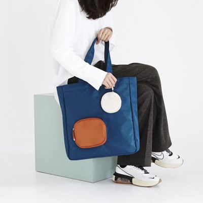 BLOCK BAG NAVY