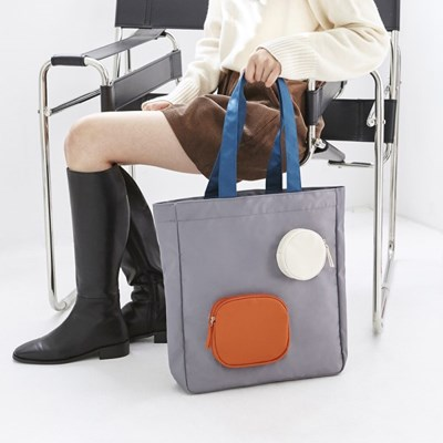 BLOCK BAG GREY