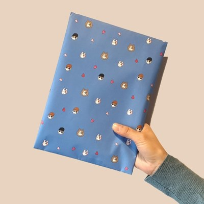 Lovely Jolla Pattern Wrapping Paper_랩핑페이퍼