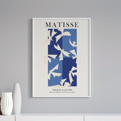 앙리마티스 그림 액자 포스터 버드