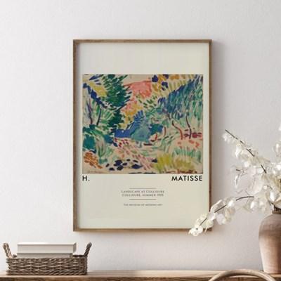 앙리마티스 그림 액자 포스터 포레스트