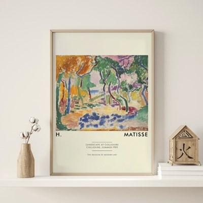 앙리마티스 그림 액자 포스터 메모리즈
