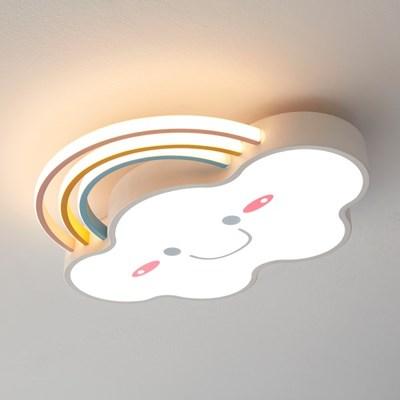 LED 무지개 구름 키즈방등 50W