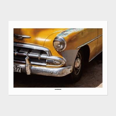 [카멜앤오아시스] Untitled 12 쿠바 빈티지카 자동차 포스터