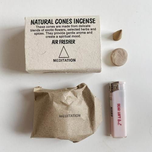 natural cones incense 내츄럴 콘 인센스 인센스콘 (9 types)