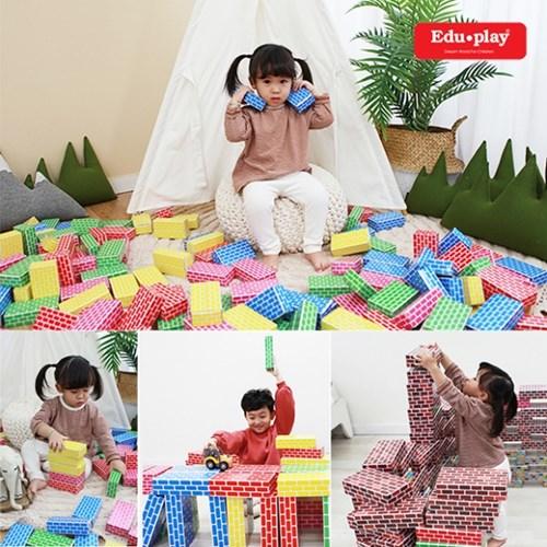 쿠쿠토이즈 종이벽돌블록 / 블럭 교육완구 유치원교구
