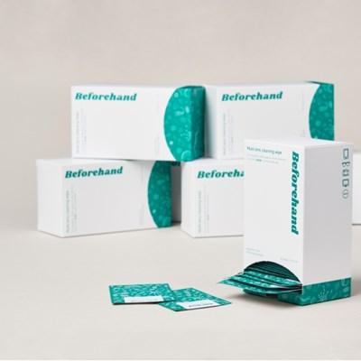 비포핸드 멀티 렌즈클리너 소독 항균 티슈 80매입 X 5박스