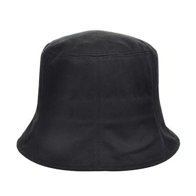 KJU01.무지 절개 면 여성 벙거지 모자 버킷햇 챙모자 봄 여름