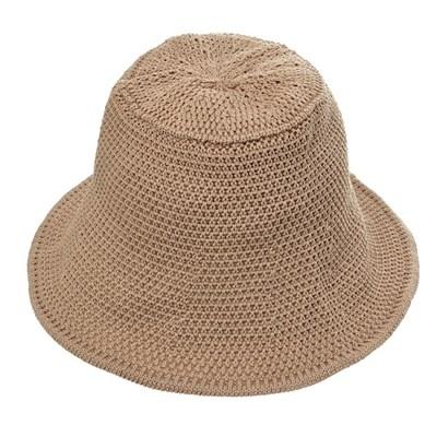 KJU05.니트 여성 벙거지 모자 버킷햇 중년 봄 가을 챙모자