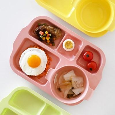 튼튼 식판+볼접시 세트 유아 어린이 식판 나눔접시_(1805458)