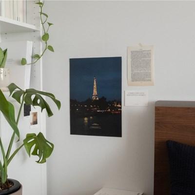 모먼츠인필름 A3 포스터 - 밤의 에펠탑