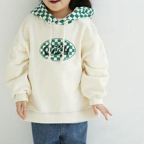 열) 웁스체크 아동 후드티-주니어까지