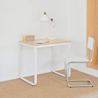 옴므 라운딩 철제 책상 테이블 800  프레임&상판 색상 선택