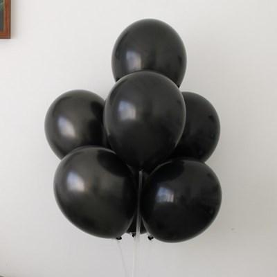 블랙 조합 파티 풍선 세트 2color [7개입]