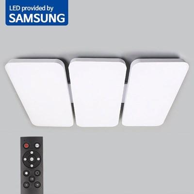 LED 리모컨 거실등 윈시스템DY 180W 밝기조절_(2037096)