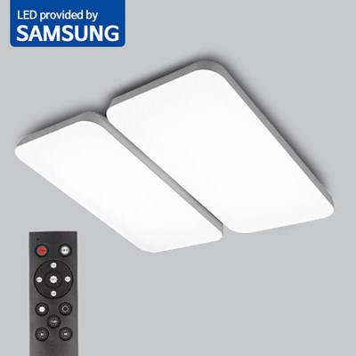 LED 리모컨 거실등 윈시스템DY 120W 밝기조절_(2037095)