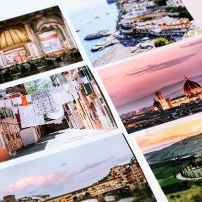 [제미포티] 트래블 여행사진 엽서 이탈리아 6종세트