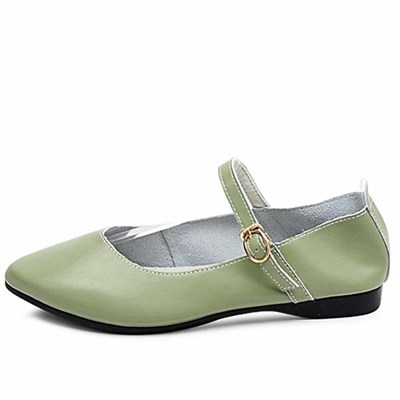 kami et muse Soft leather mary jane flat_KM21s020