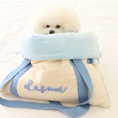 다솜 쿠션 이동 가방 강아지가방 강아지이불